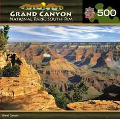Grand Canyon National Park South Rim - 500 Piece Jigsaw Puzzle