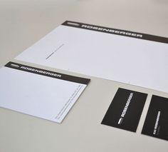 ROSENBERGER - Für den Lieferant aus dem Industrie-Bereich Gase und Schweißen entwickelten wir ein neues Logo und Erscheinungsbild.
