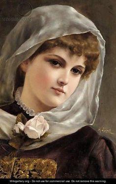 Portrait Of A Girl - Alfred Seifert