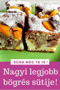 Hungarian Desserts, Cookie Recipes, Dessert Recipes, Food 52, Cakes And More, No Bake Cake, Food To Make, Easy Meals, Food And Drink