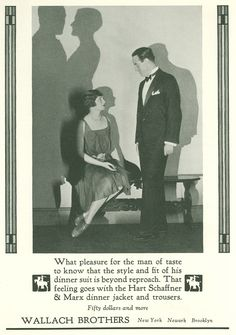 Gatsby-era Ads - Wallach Brothers