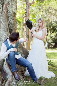 SO FUNNY. @Clare Moore. Tangled themed engagement/wedding (it was a shoot, not real...).