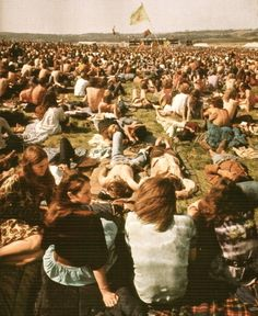 woodstock 69'  (my son and his girl friend just got back from something like for 4 days)he saids he learns so much being ther so carefree.)