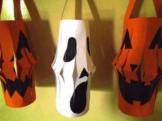 Make these spooky lanterns this Halloween!