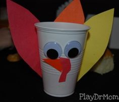 Turkey cup ... great for Thanksgiving dinner!