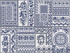 Free Sajou patterns – Needle Work