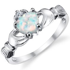 Stelring Silver 925 Irish Claddagh Friendship & Love Ring with Opal Heart Sizes 3 to 10 Metal Masters Co., http://www.amazon.com/dp/B009ZK2UTK/ref=cm_sw_r_pi_dp_qrYjrb1V467W6
