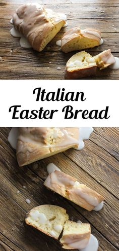 If you haven't made Italian Easter Bread before, you're in for a treat! This Italian Easter Bread is the ultimate dunking Easter Cake Bread, topped with a sweet glaze. This Italian Traditional Easter Bread is a must make. Perfect with a cup of tea or coffee for breakfast or an afternoon snack, try this easy sweet bread recipe for Easter brunch! #easterbread #easterbrunch Donut Recipes, Brunch Recipes, Breakfast Recipes, Homemade Muffins, Homemade Biscuits, Sour Cream Donut, Wine Cookies, Italian Easter Bread, Chocolate Cake Donuts