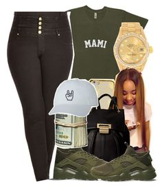 """""""Untitled #924"""" by kaja-bear ❤ liked on Polyvore featuring Rolex, Ivanka Trump, NIKE and City Chic"""