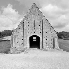 great coxwell barn, oxfordshire, england, 14th century by seier+seier, via Flickr