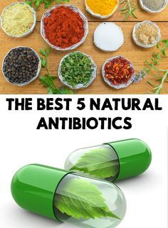 Mother Nature gave us many plants and natural products that are very powerful antibiotics. Find out the best 5 natural antibiotics!