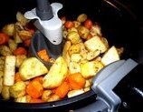 If you want your family to eat more healthy vegetables this recipe is for you. The vegetables come out crispy outside and soft inside You do need an Roasted Turnips, Roasted Root Vegetables, Mixed Vegetables, Healthy Vegetables, Fingerling Potatoes, Veggies, Ww Recipes, Spicy Recipes, Vegetarian Recipes