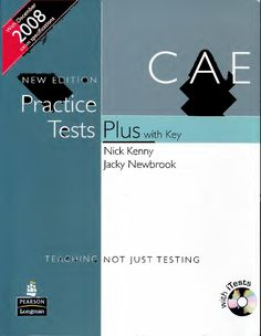 Cambridge Certificate in Advanced English (CAE) 6 practice tests with answer keys, tape-scripts and top 20 FAQs.
