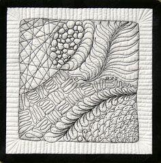 Zentangle quilt- amazing!