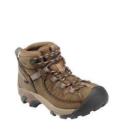 1004114 KEEN Women's Targhee II Mid Hiking Boots - Brown www.bootbay.com