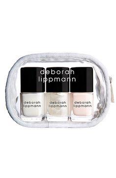 Deborah Lippmann Bridal Nail Color Set
