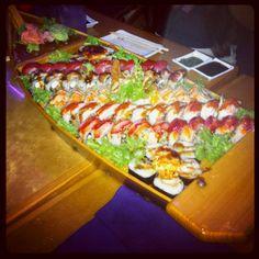 Sushi Boat at Sushi Rock!
