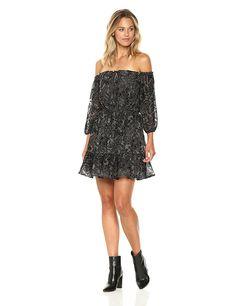 Women's Westerly Burnout Velvet Dress