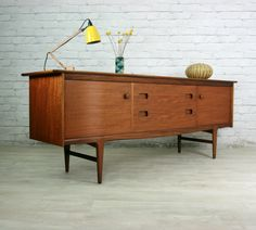 YOUNGER FONSECA RETRO VINTAGE TEAK MID CENTURY SIDEBOARD EAMES ERA 1950s 60s | eBay