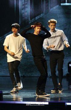 Baekhyun, D.O., and Sehun