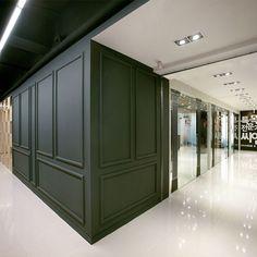 포트폴리오 Dental Office Design, Medical Design, Spa Design, Wall Design, Wall Moulding Panels, Reception Desk Design, Clinic Design, House Extensions, Wainscoting