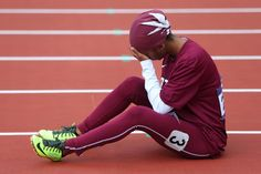 Runner's historic run to London Games comes to abrupt, heartbreaking end. But we still admire Noor Hussain Al-Malki, the first female athlete to compete in an Olympic Games from Qatar.