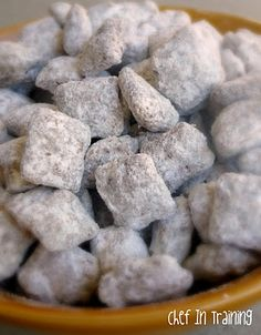 nutella puppy chow.  must try.
