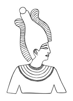 how to draw all the different egyptian gods  5th Waldorf Egypt