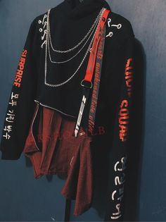 Kpop Fashion Outfits, Edgy Outfits, Cute Casual Outfits, Korean Outfits, Retro Outfits, Grunge Outfits, Punk Fashion, Lolita Fashion, Summer Outfits