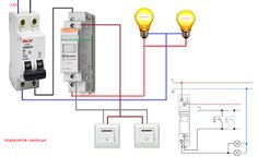 Esquemas eléctricos: telerruptor unipolar
