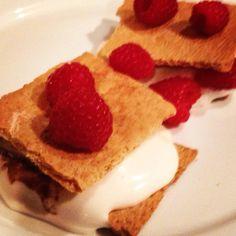 raspberry smores w vosges bacon chocolate