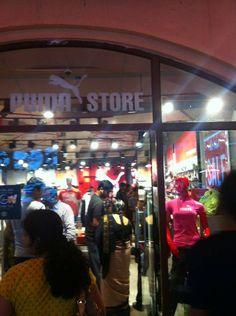 The Puma store on Flat 50 %