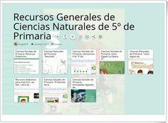 """""""Recursos Generales de Ciencias Naturales de 5º de Primaria"""""""