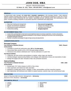 outside sales resume example - Outside Sales Resume Examples