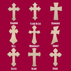 18 Wood Cross Unfinished DIY Medium Wooden by unfinishedcrosses