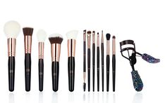 Luxe Makeup Brushes | A girl always needs quality tools to make magic happen. These make up brushes are hand crafted and can take between 30-50 artisans to make one set - and all cruelty free! #makeupbrushes #luxeaccessories #accessories #makeuptools #makeup