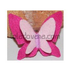 Broches Mariposas de Fieltro - loladovana.com
