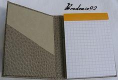 Porte-bloc-notes - Brodeuse92