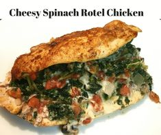Make this diabetes-friendly, one-dish spinach dip stuffed chicken using items you probably already have on hand. Tender chicken breasts stuffed with spinach, rotel and cheese make a quick, low carb meal option. Low Carb Chicken Recipes, Low Carb Recipes, Diet Recipes, Cooking Recipes, Healthy Recipes, Diabetic Recipes, Ketogenic Recipes, Healthy Snacks, Healthy Eating