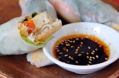 Kimchi Tofu Summer Rolls~use gf ingredients