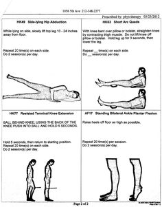 Physical Therapy Exercises Foot Drop Physical Therapy Exercises http://notacowgirl.wordpress.com ...
