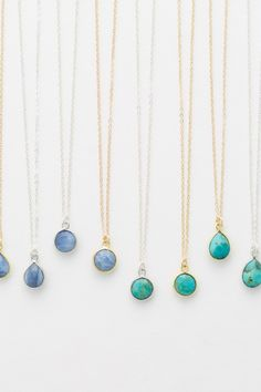 Blue opal or turquoise. Which would you choose?