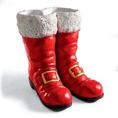 Oversized Santa Boots