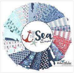 By The Sea by Dani Mogstad For Riley Blake - Fat Quarter Bundle (21 prints)