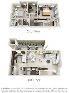 The Sumner 2 Beds Baths Office Sims House Plans, House Layout Plans, Modern House Plans, House Layouts, House Floor Plans, House Floor Design, Sims House Design, Home Room Design, Home Design Plans