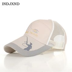 >> Click to Buy << INDJXND Anti UV Protection Embroidery Bucket Hats For Men Fishing Women Caps Mesh Grid Adjustable Sunshade Sports Designer M043 #Affiliate