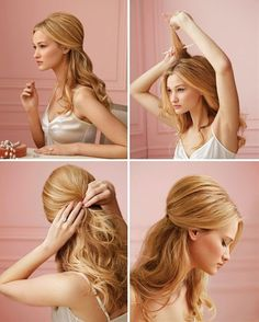 Wonderful Hairstyle Tutorial For Long Hair - Click image to find more hair posts