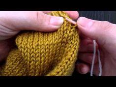 Défaire son tricot sans perdre des mailles - YouTube