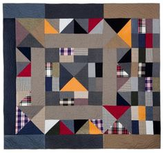 Barely Broke with Intelligence: A.P.C. Quilts by Jessica Ogden and Jean Touitou