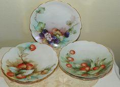 Bavarian fruit bowls